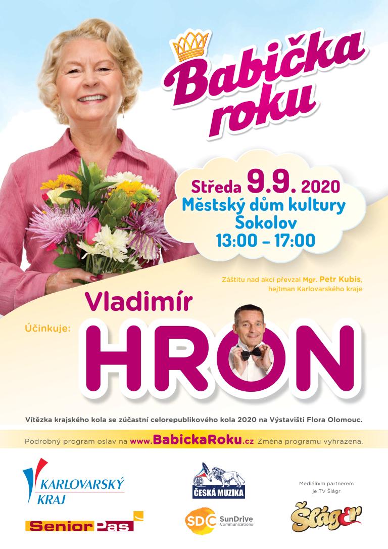 plakát babička roku Karlovarského kraje 2020