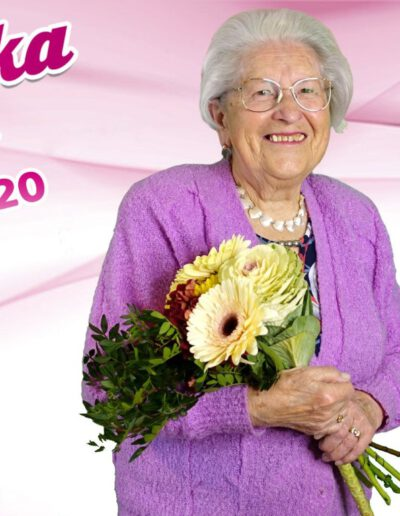 Dagmar Blažková, stříbrná babička 2020