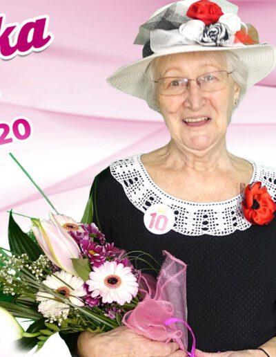 Růžena Haidlová, bronzová babička 2020