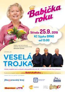 plakát babička roku Jihomoravského kraje 2019
